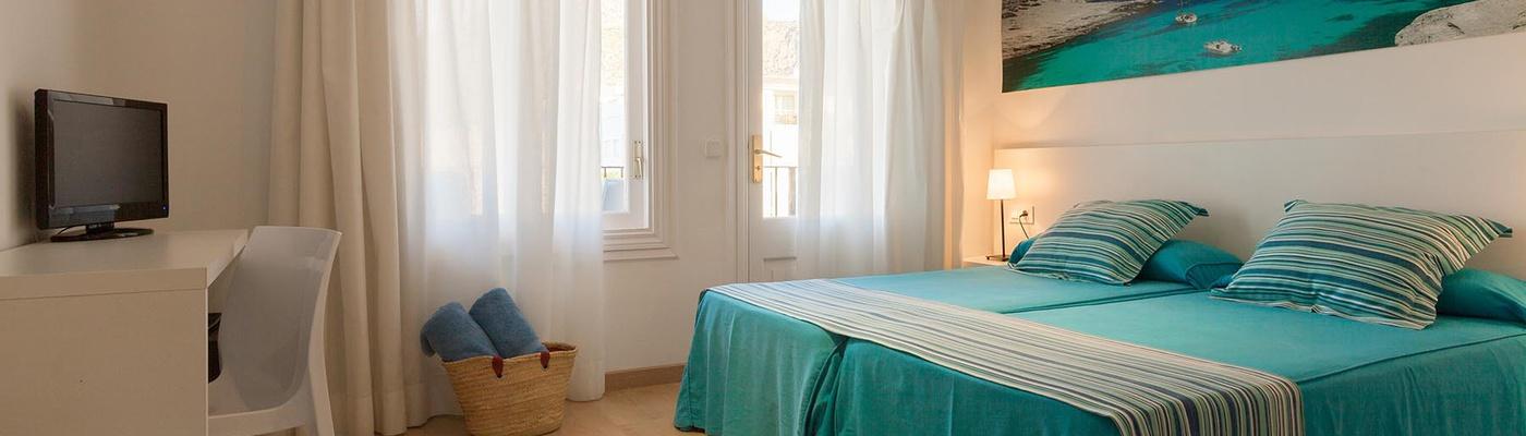 Economy Doppelzimmer Hotel Capri