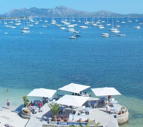 ABENDESSEN AUF DEM MEER Hotel Capri 3