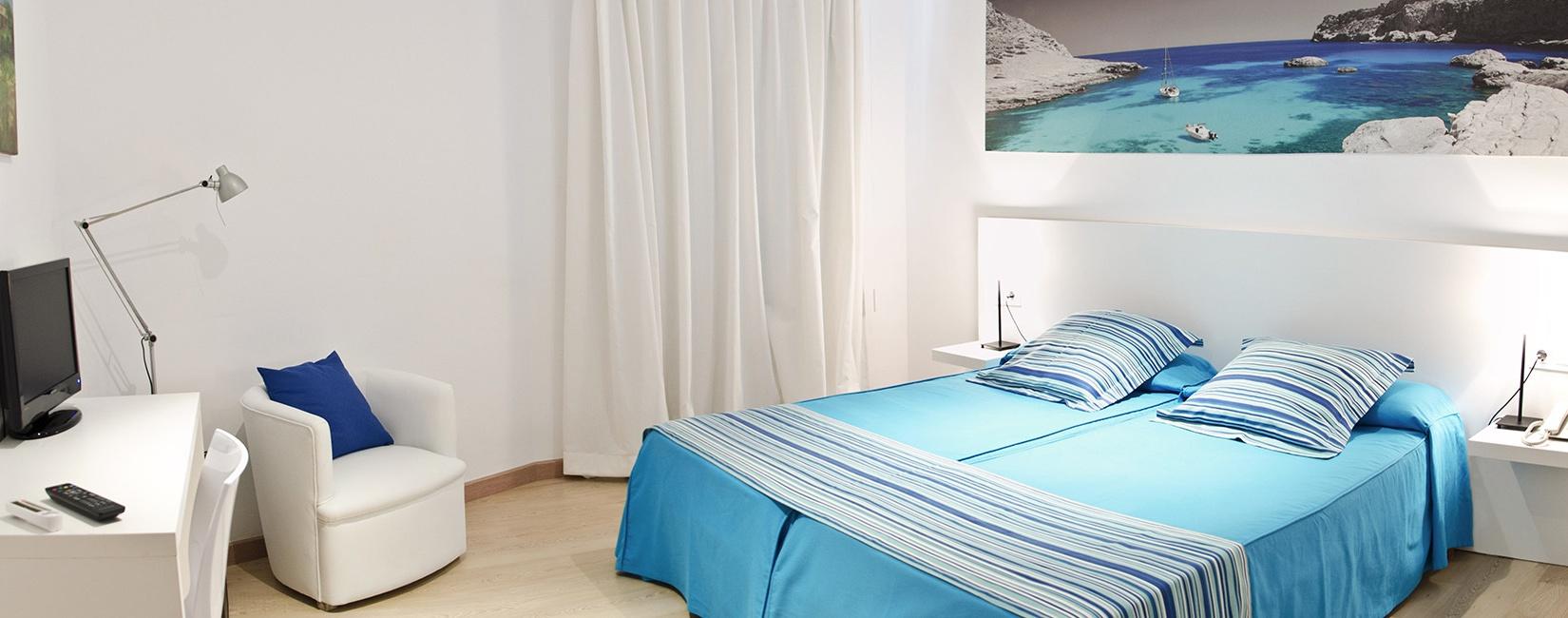 Habitaciones Hotel Capri