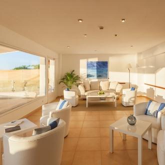 Wohnzimmer Hotel Capri